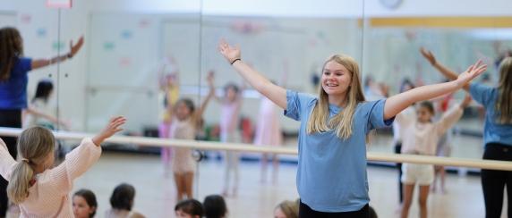 Youth Intern Dance Camp