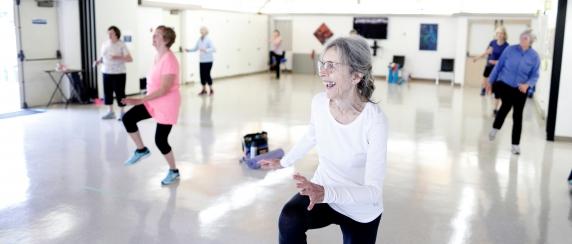 Fitness Dance Class at Monterey