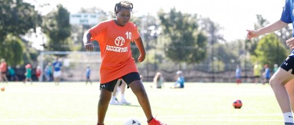Soccer player, child program
