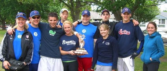 Softball League   The District of Oak Bay