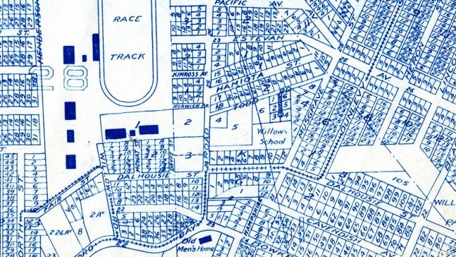 1925 map of Oak Bay